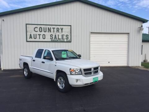 2011 RAM Dakota for sale at COUNTRY AUTO SALES LLC in Greenville OH