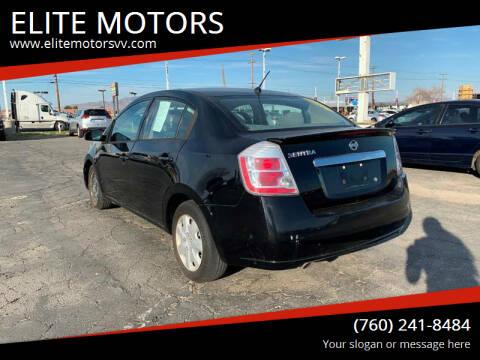 2011 Nissan Sentra for sale at ELITE MOTORS in Victorville CA