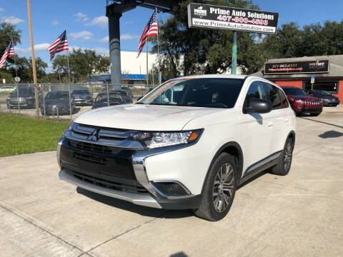2017 Mitsubishi Outlander for sale at Prime Auto Solutions in Orlando FL