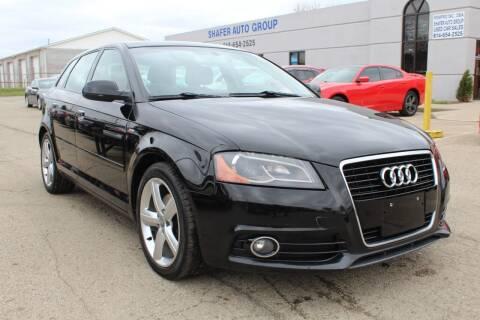 2012 Audi A3 for sale at SHAFER AUTO GROUP in Columbus OH