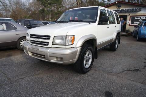 2001 Isuzu Trooper for sale at E-Motorworks in Roswell GA