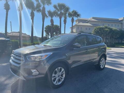 2018 Ford Escape for sale at Gulf Financial Solutions Inc DBA GFS Autos in Panama City Beach FL