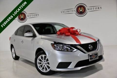 2018 Nissan Sentra for sale at Unlimited Motors in Fishers IN
