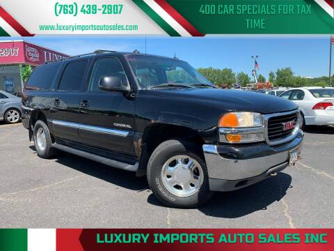2003 GMC Yukon XL for sale at LUXURY IMPORTS AUTO SALES INC in North Branch MN