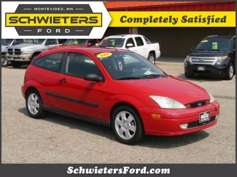 2002 Ford Focus for sale at Schwieters Ford of Montevideo in Montevideo MN