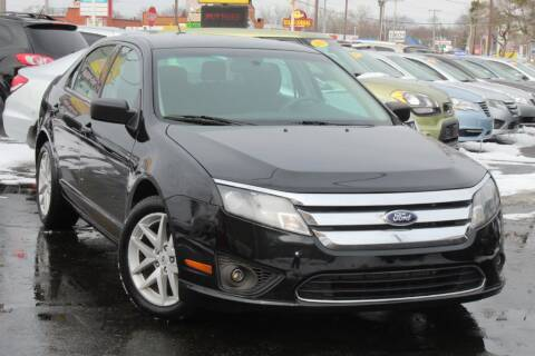 2012 Ford Fusion for sale at Dynamics Auto Sale in Highland IN