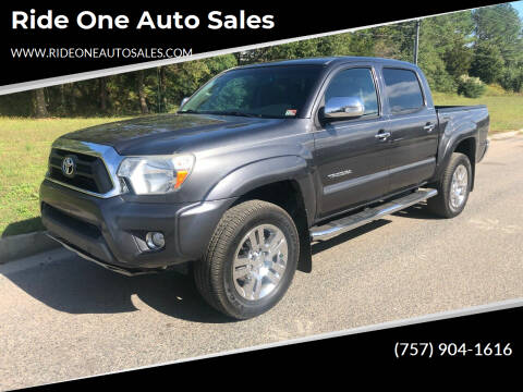 2014 Toyota Tacoma for sale at Ride One Auto Sales in Norfolk VA