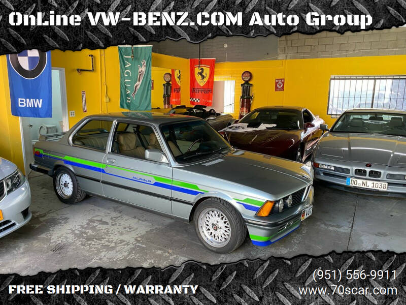 1983 BMW 3 Series for sale at OnLine VW-BENZ.COM Auto Group in Riverside CA