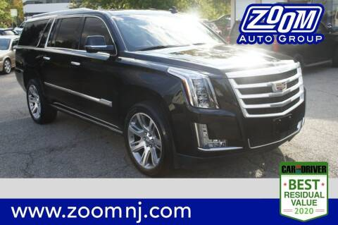 2016 Cadillac Escalade ESV for sale at Zoom Auto Group in Parsippany NJ