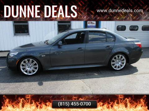 2008 BMW 5 Series for sale at Dunne Deals in Crystal Lake IL