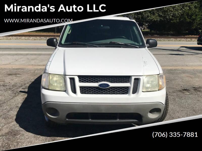2003 Ford Explorer Sport Trac for sale at Miranda's Auto LLC in Commerce GA