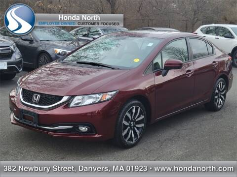 2015 Honda Civic for sale at 1 North Preowned in Danvers MA