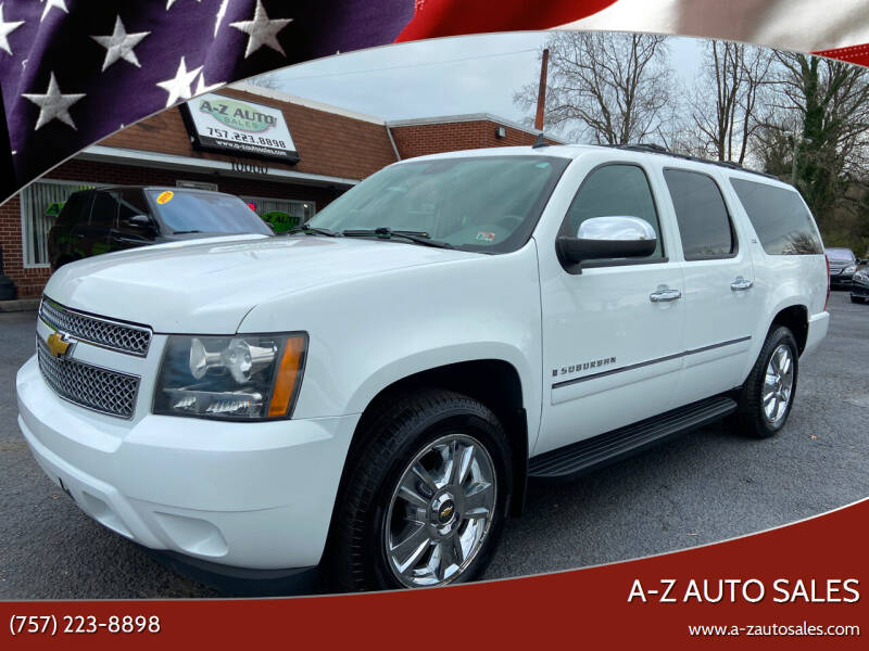 2009 Chevrolet Suburban for sale at A-Z Auto Sales in Newport News VA