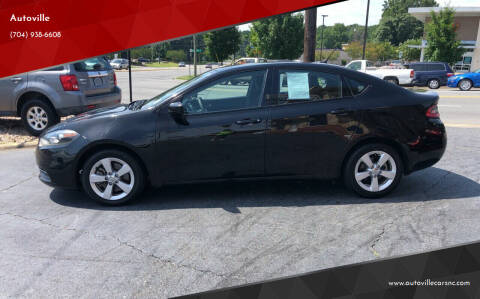 2015 Dodge Dart for sale at Autoville in Kannapolis NC
