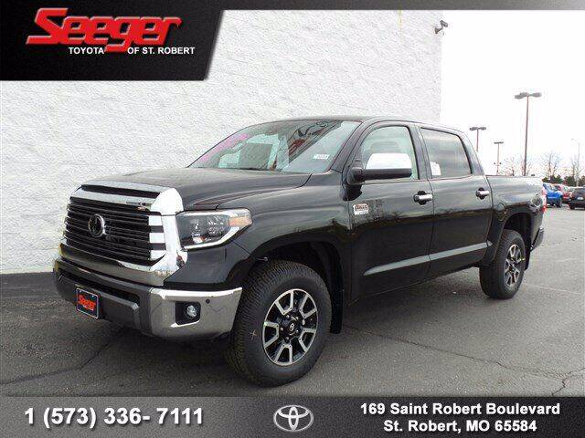 2021 Toyota Tundra for sale at SEEGER TOYOTA OF ST ROBERT in St Robert MO