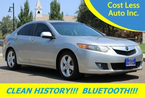 2009 Acura TSX for sale at Cost Less Auto Inc. in Rocklin CA