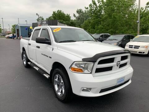 2012 RAM Ram Pickup 1500 for sale at LexTown Motors in Lexington KY