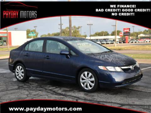 2011 Honda Civic for sale at Payday Motors in Wichita And Topeka KS