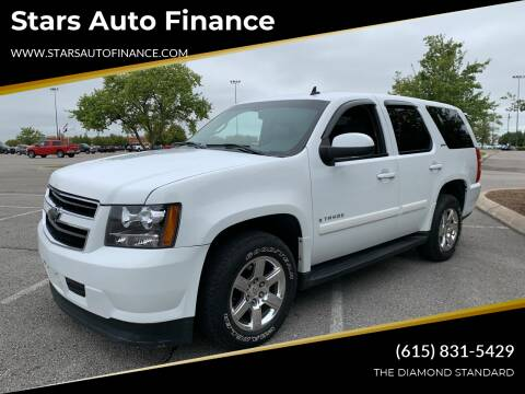 2008 Chevrolet Tahoe for sale at Stars Auto Finance in Nashville TN