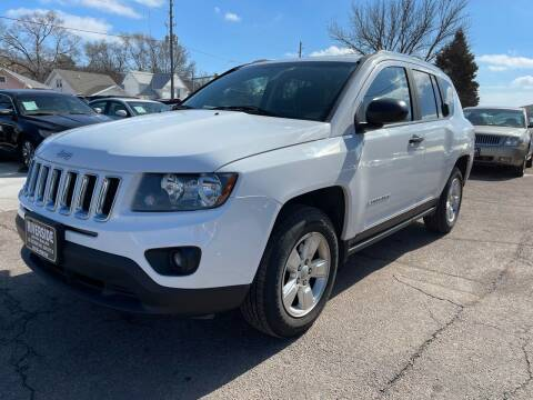 2014 Jeep Compass for sale at RIVERSIDE AUTO SALES in Sioux City IA