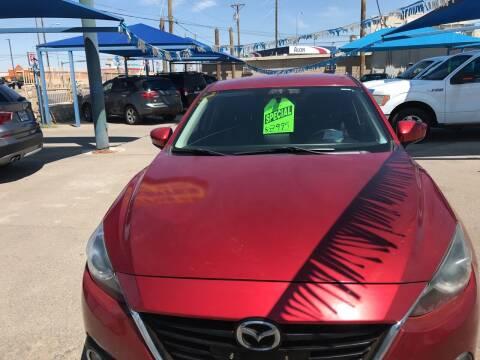 2014 Mazda MAZDA3 for sale at Autos Montes in Socorro TX