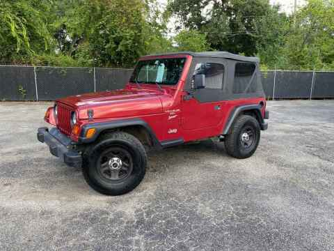 1999 Jeep Wrangler for sale at LIQUIDATORS in Houston TX