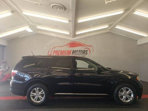 2011 Dodge Durango for sale at Premium Motors in Villa Park IL