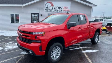 2020 Chevrolet Silverado 1500 for sale at Action Motor Sales in Gaylord MI