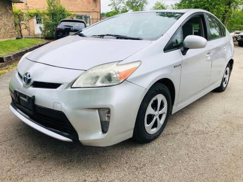 2012 Toyota Prius for sale at Midland Commercial. Chicago Cargo Vans & Truck in Bridgeview IL