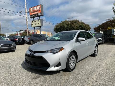 2018 Toyota Corolla for sale at Autohaus of Greensboro in Greensboro NC
