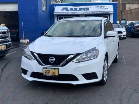 2016 Nissan Sentra for sale at AGM AUTO SALES in Malden MA