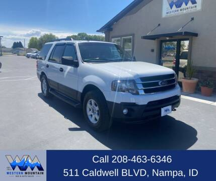 2015 Ford Expedition for sale at Western Mountain Bus & Auto Sales in Nampa ID