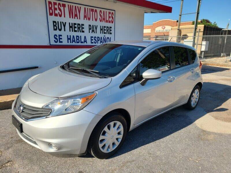 2015 Nissan Versa Note for sale at Best Way Auto Sales II in Houston TX