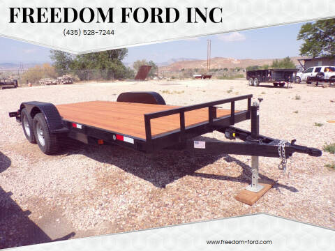 2022 FF OFFROAD 7x16 w/ 2' Dovetail for sale at Freedom Ford Inc in Gunnison UT
