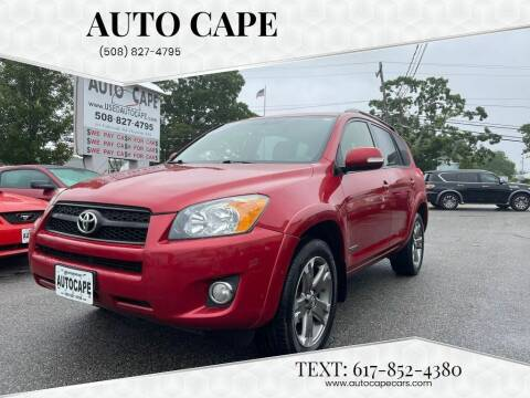 2012 Toyota RAV4 for sale at Auto Cape in Hyannis MA