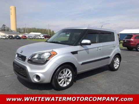 2013 Kia Soul for sale at WHITEWATER MOTOR CO in Milan IN