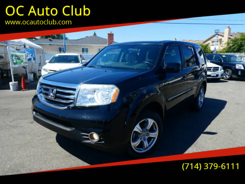 2015 Honda Pilot for sale at OC Auto Club in Midway City CA
