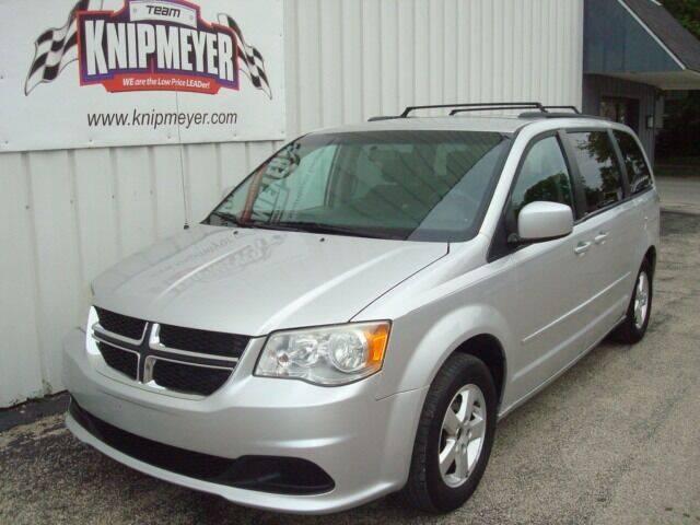 2012 Dodge Grand Caravan for sale at Team Knipmeyer in Beardstown IL