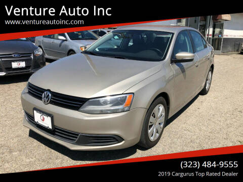 2013 Volkswagen Jetta for sale at Venture Auto Inc in South Gate CA