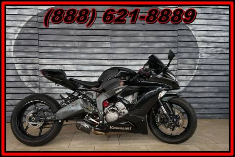 2013 Kawasaki Ninja ZX-6R for sale at AZMotomania.com in Mesa AZ