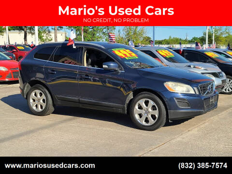 2013 Volvo XC60 for sale at Mario's Used Cars in Houston TX