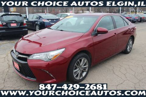 2015 Toyota Camry for sale at Your Choice Autos - Elgin in Elgin IL