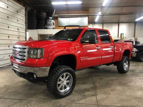 2012 GMC Sierra 2500HD for sale at T James Motorsports in Gibsonia PA