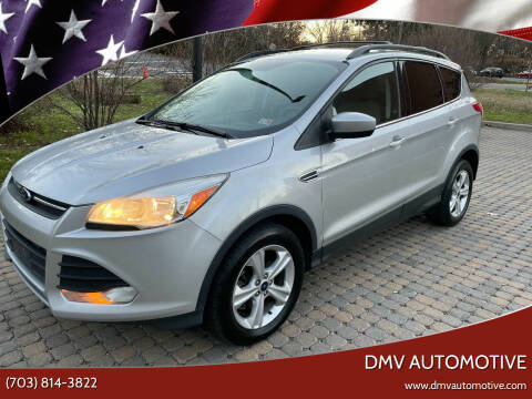 2014 Ford Escape for sale at DMV Automotive in Falls Church VA