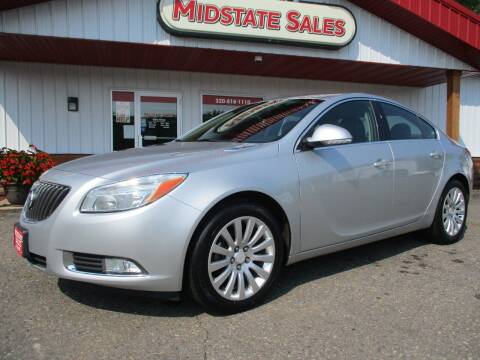 2012 Buick Regal for sale at Midstate Sales in Foley MN
