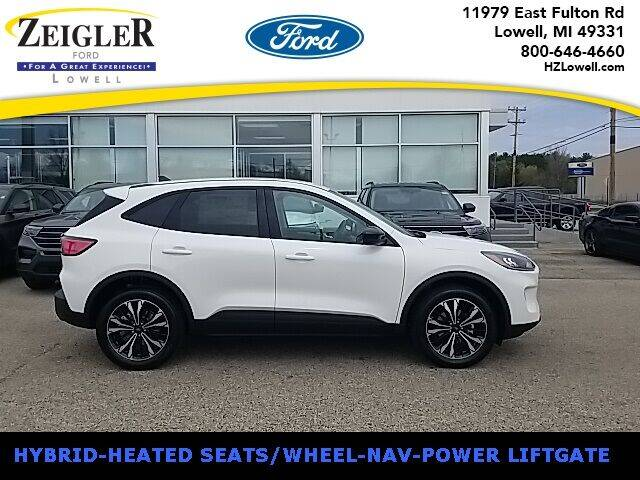 2021 Ford Escape Hybrid for sale at Zeigler Ford of Plainwell- Jeff Bishop in Plainwell MI