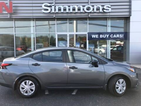 2021 Nissan Versa for sale at SIMMONS NISSAN INC in Mount Airy NC