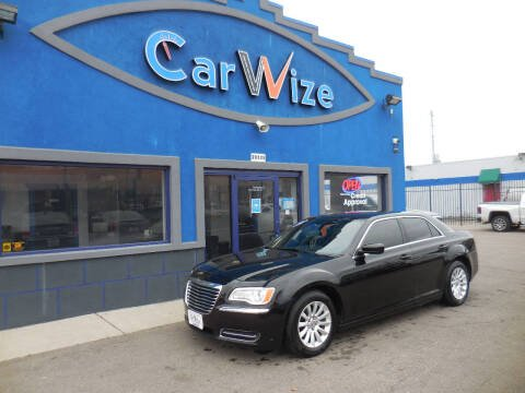 2014 Chrysler 300 for sale at Carwize in Detroit MI