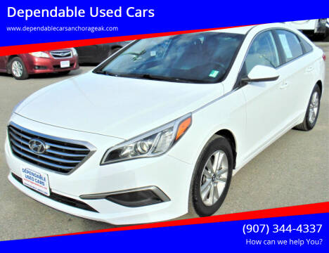 2016 Hyundai Sonata for sale at Dependable Used Cars in Anchorage AK