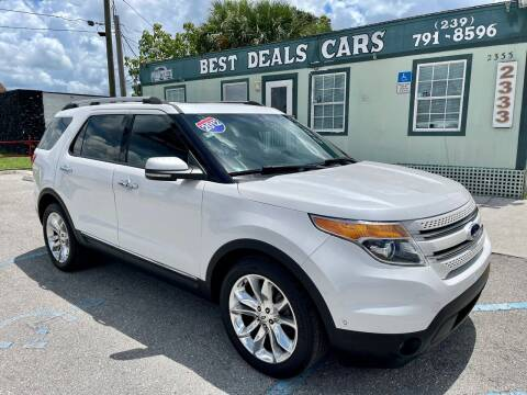 2012 Ford Explorer for sale at Best Deals Cars Inc in Fort Myers FL